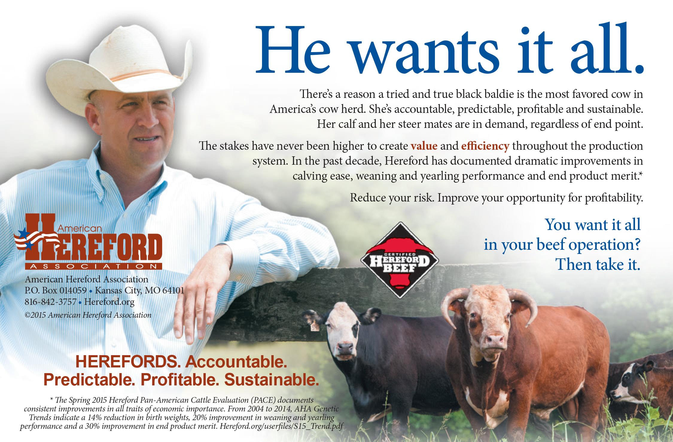 Missouri Hereford Association - Members